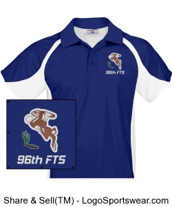 96th Flying Training Squadron Mens Polo Design Zoom
